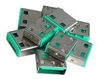 LINDY USB Port Schloss (10 Stück) OHNE Schlüssel: Code GRüN 40461