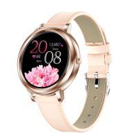 Smart Watch für Frauen 1,09-Zoll-Touchscreen-Herzfrequenz-Blutdrucküberwachung Sicherer Schlaf Multisport-Modi Fernkamera IP67 Wasserdicht Elegante weibliche Fitness-Sportarmbänder Smart Wristband Kompatibel mit Android / iOS