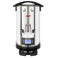 Caytime 12 Liter Doppelwand Isolierung Teemaschine Samowar Semaver Teekocher Teeautomat Glühwein Kakao Milch Spender
