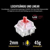 Corsair K70 RGB MK.2 - Verkabelt - USB - Mechanischer Switch - QWERTZ - RGB-LED - Schwarz