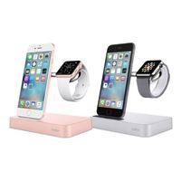 Belkin Ladestation Valet silber Apple Watch + iPhone F8J183vfSLV