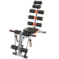 WYCTIN Sit-Up Bank Rückentrainer Bauchtrainer Hyperextensions Rückenstrecker Multifunktions-Trainingsbank
