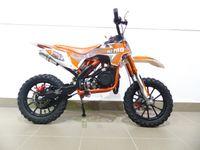 Pocketbike KXD 702 Dirtbike Pocket Cross Bike Kindercross Crossbike Orange