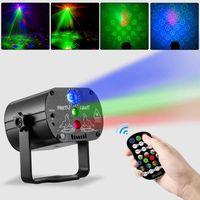 60 Muster Projektor LED RGB Laser Bühnenlicht DJ Disco KTV Home Party Beleuchtung