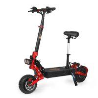Bezior S2 11-Zoll Elektroscooter , Anti-Rutsch-Reifen und LCD-Bildschirm |21Ah Akku| Bis 65 km/h und 2400 Watt Motor schwarz|E-Scooter Elektroroller Cityroller Electric Scooter E-Bikes Erwachsene