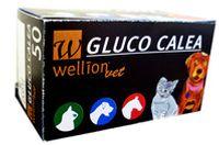 WellionVet Gluco Calea Blutzucker Teststreifen, Option:50 Teststreifen