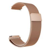 22mm Uhrenarmband Edelstahl Mesh Uhrenarmband Armband Ersatz Kompatibel mit HUAWEI WATCH GT 2 46mm / HONOR MagicWatch 2 46mm / MagicWatch
