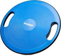 Balance Board | Wackelbrett Ø 40cm mit Griffen | Therapiekreisel Physiotherapie Therapiekreisel - Royal Blue
