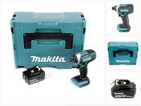 Makita DTD 152 F1J Akku Schlagschrauber 18V 165Nm + 1x Akku 3,0Ah + Makpac - ohne Ladegerät