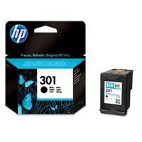 Original HP CH 561 EE / 301 Tintenpatrone schwarz, 190 Seiten, 8,81 Cent pro Seite, Inhalt: 3 ml - ersetzt HP CH561EE / 301 Druckerpatrone