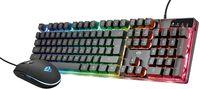 Trust GXT 838 Azor Gaming-Tastatur und Maus Set Anti-Ghosting 800 - 3000 DPI