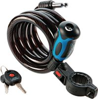 Spirale 1345 150 L Länge 150cm Seil-Durchmesser 10mm mit beleuchtetem Schlüssel