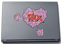 Laptopaufkleber Laptopskin Comic 073 - Lustiges Motiv THX - 210 x 240 mm Aufkleber