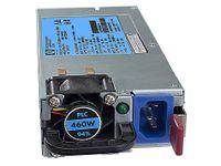 HP 503296-B21, 460W, 100 - 240V, 50 - 60 Hz, server, ProLiant DL360 G6 ProLiant DL360 G7 ProLiant DL370 G6 ProLiant DL380 G6 ProLiant DL380 G7, 8,63 cm