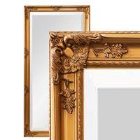 Wandspiegel Barock antik gold PIA Ganzk/örperspiegel 160 x 60 cm