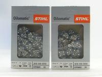 """Stihl 3610 000 0050 Stück 2 original Sägeketten PMM 3 /3/8""""P /1,1mm 50 TG 35cm 61PM 36100000050"""