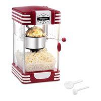bredeco Popcornmaschine - 50er Jahre Retro-Design - rot