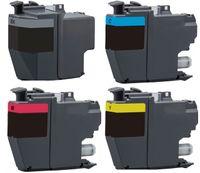 XL Druckerpatronen-Set kompatibel mit Brother LC-3219 XL / LC-3217 - 4 Patronen in XL Füllmenge für MFC-J5330 DW, MFC-J5330 DW XL, MFC-J5335 DW, MFC-J5730 DW, MFC-J5830 DW, MFC-J5930 DW, MFC-J6530 DW, MFC-J6535 DW, MFC-J6535 DW XL, MFC-J6730 DW, MFC-J6930 DW, MFC-J6935 DW / ersetzt LC-3217 black, cyan, magenta, yellow, LC-3219 black XL, cyan XL, magenta XL, yellow XL
