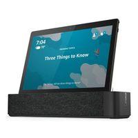 Lenovo Tab M10  TB-X605F (Smart Tab) +  BT speaker Dock/ 10' (1920x1200) IPS / 2 GHz QC / 3GB / 32GB / Black / Android 9.0, Farbe:Schwarz