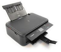 Canon PIXMA TS5150 Multifunktionsdrucker Scanner Kopierer WLAN, Farbe: Schwarz