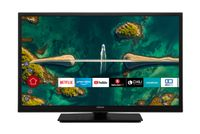 HITACHI H24E2200 Fernseher 24 Zoll (HD Ready, HDR10, Smart TV, Prime Video, Works with Alexa, PVR)