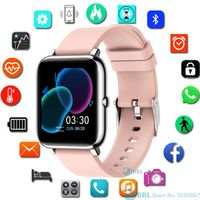 Smart watch Bluetooth Uhr Fitness Tracker mit Blutdruckmessung Fitness Armband mit Pulsuhr Schlafmonitor Schrittzähler