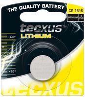tecxus CR1616 Lithium Knopfzelle 3V