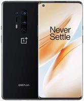 "OnePlus 8 Pro, 12 GB RAM + 256 GB ROM, OxygenOS, 5G, 6.78"" (3D) Fluid AMOLED 120Hz Display, Wireless Fast Charging 4510mAh Akku, Dual Sim - Schwarz"