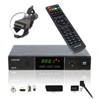 PremiumX HD 520 FTA Digital SAT Receiver DVB-S2 HDMI SCART USB FullHD