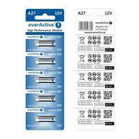 Alkaline-Batterien everActive A23 12V High Performance Alkaline - Blister 5 Stück
