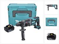 Makita DHR 241 T1J Akku Bohrhammer 18 V 2,0 J SDS plus + 1x Akku 5,0 Ah + Makpac - ohne Ladegerät
