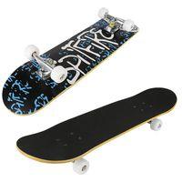 WYCTIN Skateboard mit ABEC 7 Kugellager 79cm - PolyurethanDämpfer + PolyurethanRollen