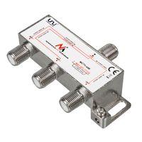 3-Wege Verteiler für Satelliten-Anlagen Splitter Sat-Verteiler 5-2400MHz Unicable DVB-S2
