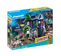 PLAYMOBIL Scooby Doo! 70361 Abenteuer im Geisterhaus