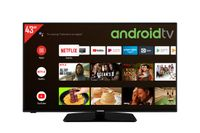 Telefunken D43F554N2CW 43 Zoll Fernseher (Android TV inkl. Prime Video / Netflix, HDR10, Full HD)