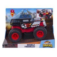 Hot Wheels Monster Trucks 1:24 Bone Shaker Double Troubles