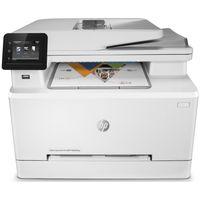 HP color LaserJet Pro MFP M283fdw, 4in1, Duplex, Wlan, Farbe:Weiß