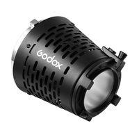 Godox SA-17 Projektionsaufsatzadapter zur Montage des Godox SA-P Projektors an Bowens Mount LED-Dauerlicht