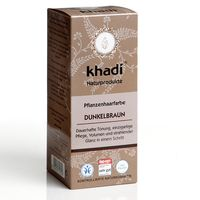 Khadi Haarfarbe Dunkelbraun 100g