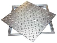 ACO Schachtabdeckung FL 2.0 Easy Kanaldeckel Schachtdeckel Rahmen mit Deckelwanne, Maße:1000 x 600