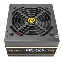 Antec VP500P Plus EC - 500 W - 100 - 240 V - 47 - 63 Hz - 4 A - Aktiv - 110 W Antec