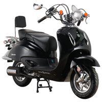 Motorroller Firenze 125 ccm 85 kmh EURO 5 schwarz