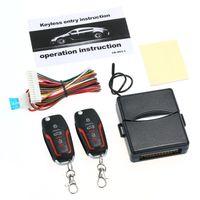 Car Alarm Systems Auto Remote Central Kit Central Locking with Remote Control Door Lock Vehicle Keyless Entry System Kfz-Alarmanlagen Zentralverriegelung mit Fernbedienung und Tš¹rschloss