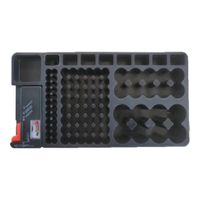 Batterie Aufbewahrungsbox Akkubox Batteriebox Aufbewahrung Schutzhülle Case mit Batterietester BT-168 für AAA AA 9V C D Batterien