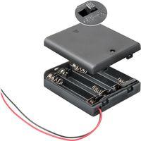 4x AA (Mignon) Batteriehalter