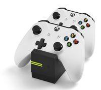 Snakebyte Dual Controller Ladestation mit 2 wiederaufladbaren Batterien für Xbox One Gamepad - Twin Ladegerät