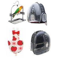 Parrot Travel Accessory Pack, Paket Beinhaltet Verstellbare Papageienwindel (M) Und Parrot Travel Backpack Carrier