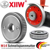 Schnellspannmutter M14 Schraube für Bosch Metabo Makita Winkelschleifer Würth DE