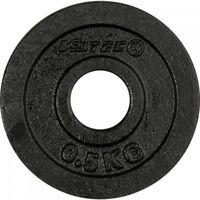V3Tec Hantelscheiben schwarz 2 x 5.0 kg