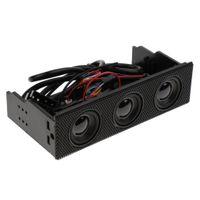 PC Gehäuse Eingebaute 3.1 Surround Sound Lautsprecher 3 Sets Lautsprecher